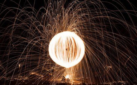 Prirodni fenomen - svjetlosna kugla nad Rogoznicom