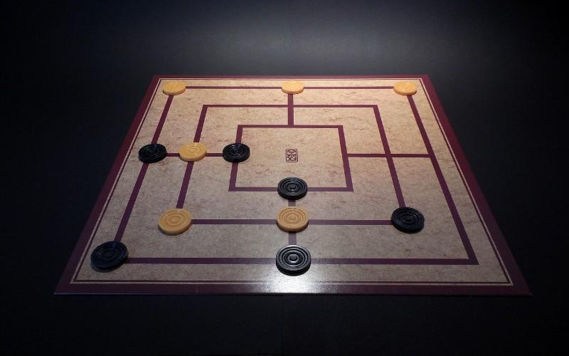 Zabavne društvene igre - mlin