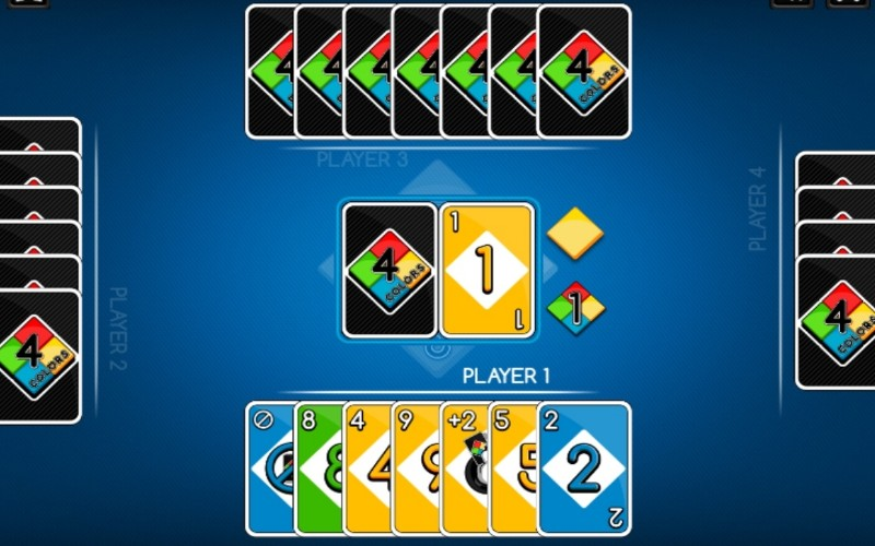 Online card games - Four colors