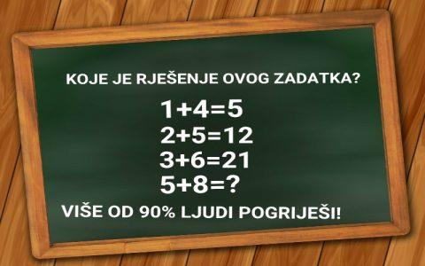 Matematički zadatak - Izgleda jednostavan, a i nije