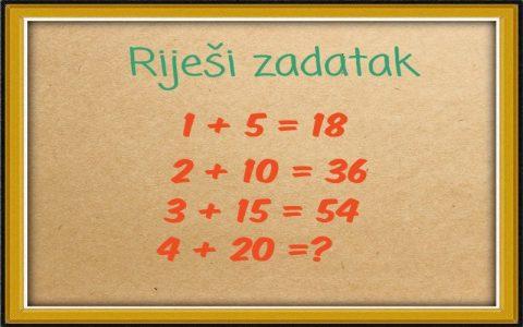 Matematičke vještine - Pokažite vaše znanje matematike