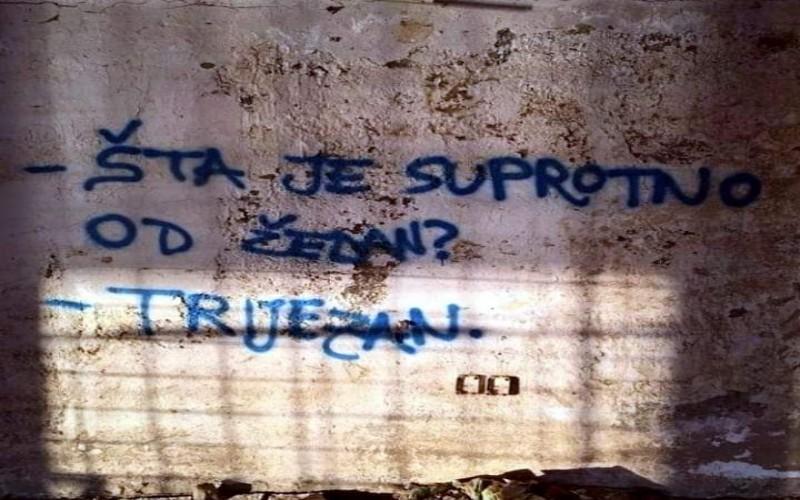 Grafiti na zidu - Smiješne slike kroz grafite