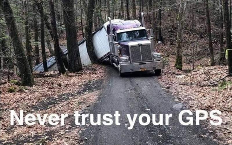Smiješne slike vozača - GPS auto navigacija
