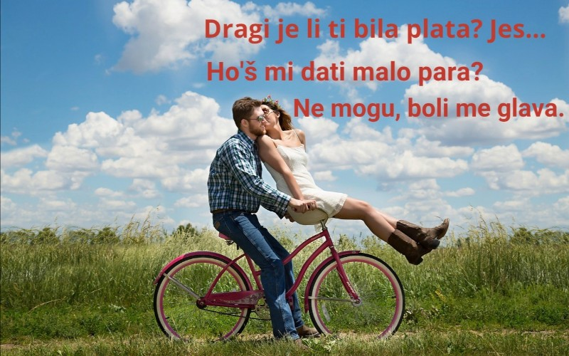Smiješne slike o braku - Da li je bila plata