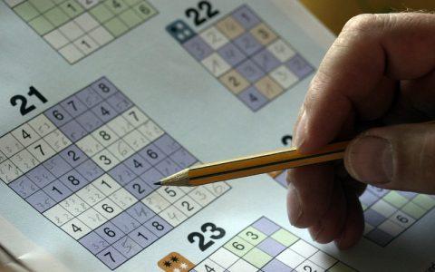 Sudoku igre - Matematičke zagonetke za uporne