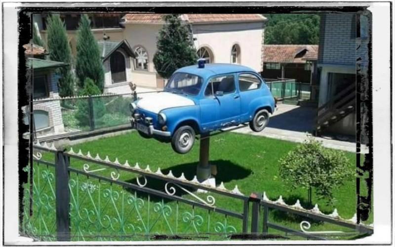 Smiješne slike automobila - Legendarni Fićo auto