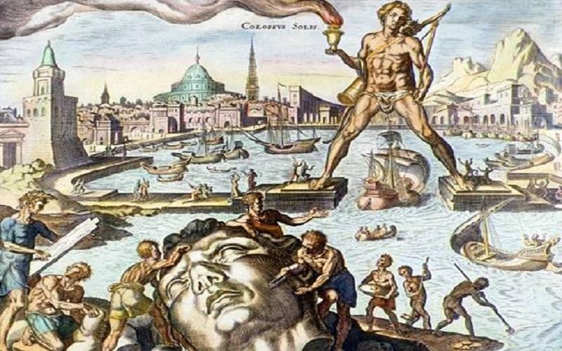 Sedam svjetskih čuda antike - Kolos s Rodosa