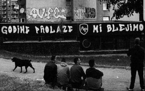 Godine prolaze i prolaze - Smiješni grafiti na zidovima