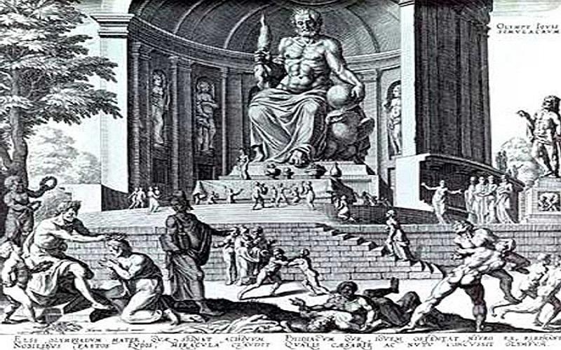 Svjetska čuda antike - Zeusov kip u Olimpiji