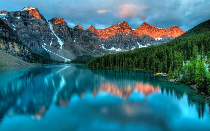 Lijepe slike prirode - Jezero u Alberti