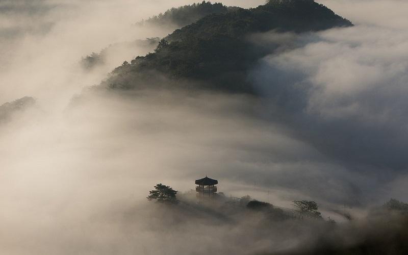 Fotografije magle - Azija