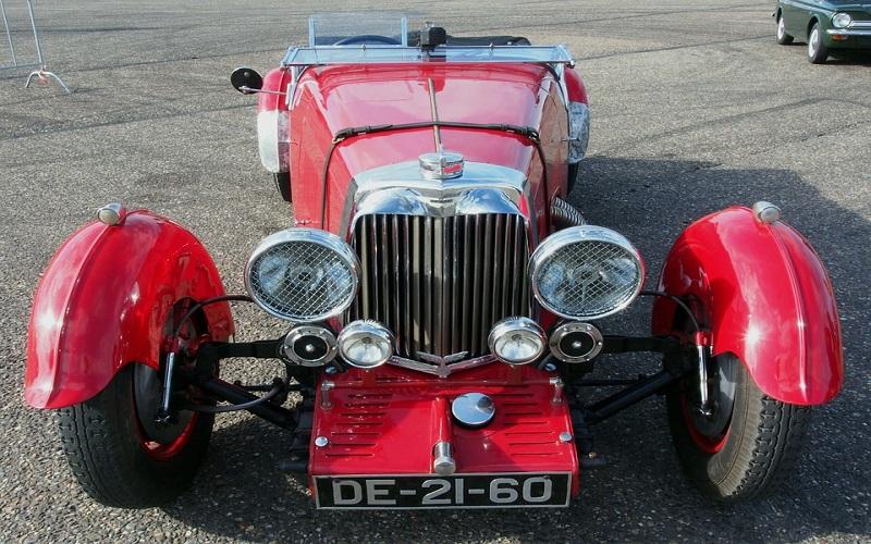 Sportski auti - Aston Martin 1934