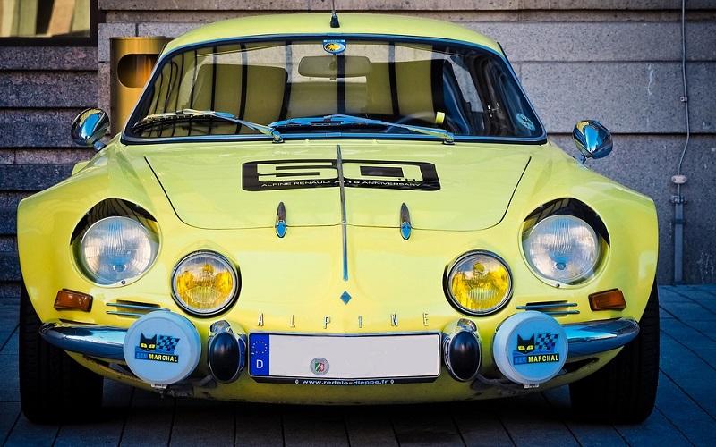 Stara vozila - Renault Alpine
