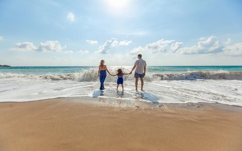 Ljeto na moru i obitelj