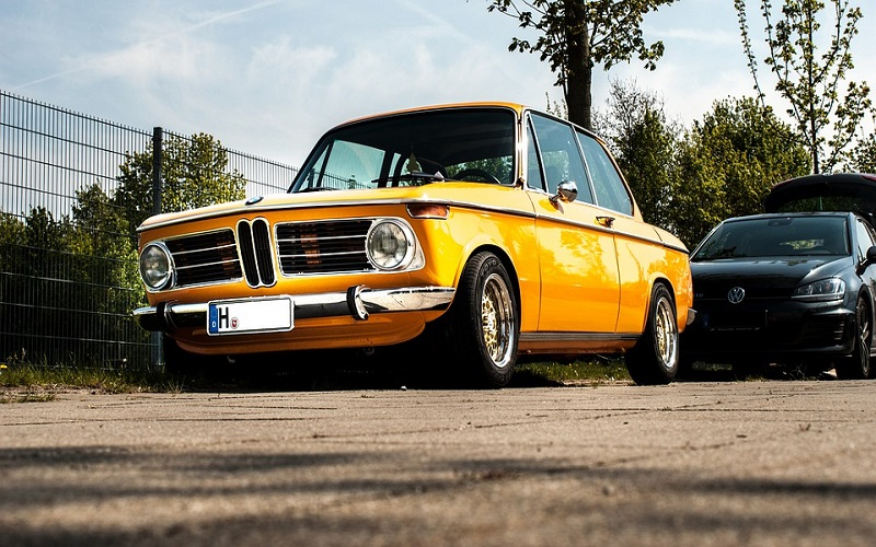 Stara vozila - BMW 2002