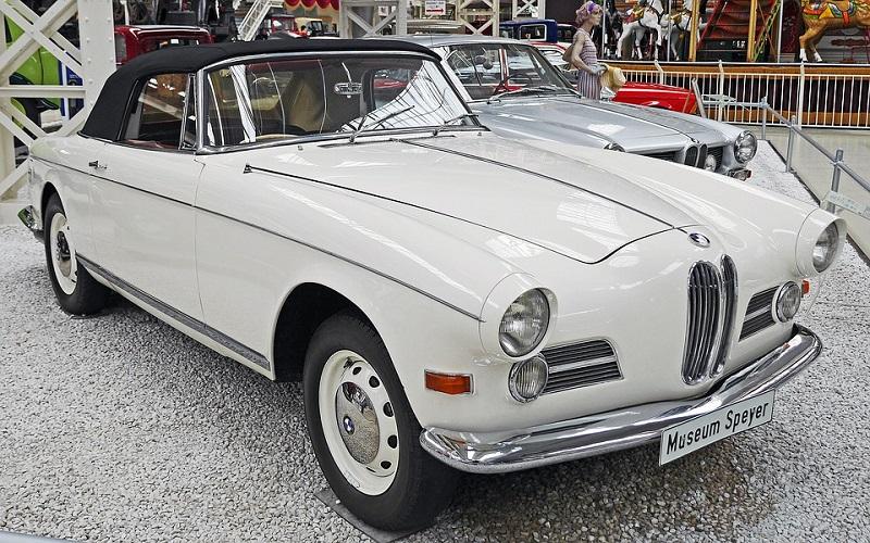 Oldtimer auti - BMW 503 Cabrio