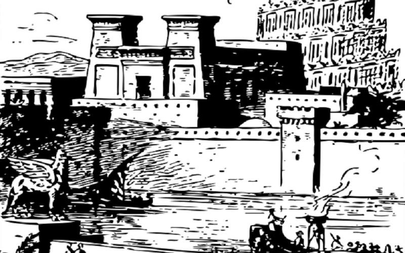 Svjetska čuda antike - Viseći vrtovi Babilona