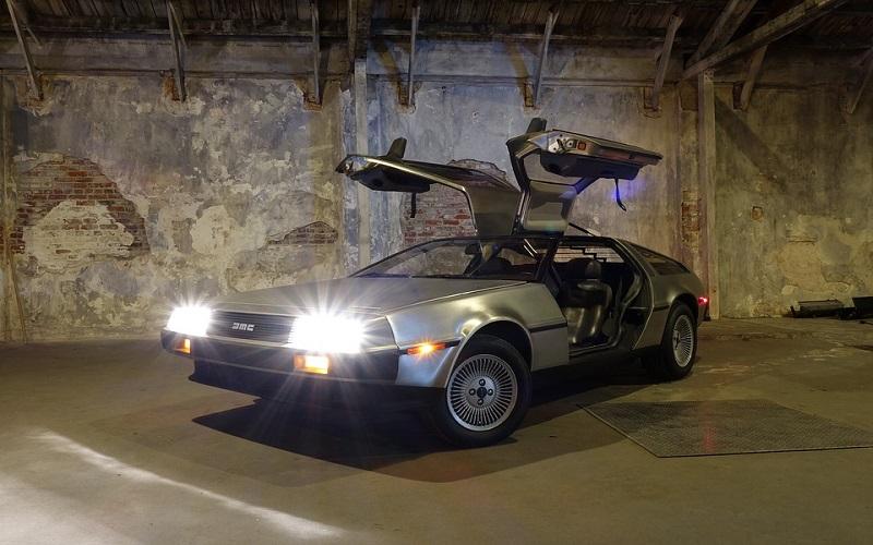 Putovanje kroz vrijeme - Auto iz filma Povratak u budućnost