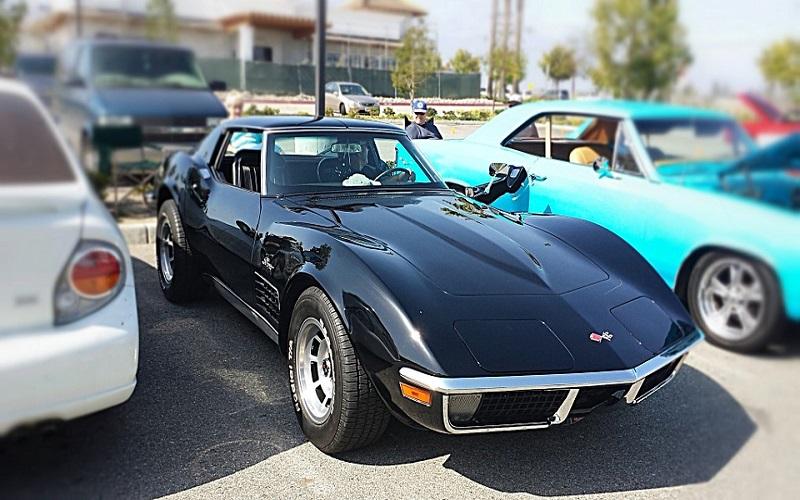 Sportska vozila - Black Corvette