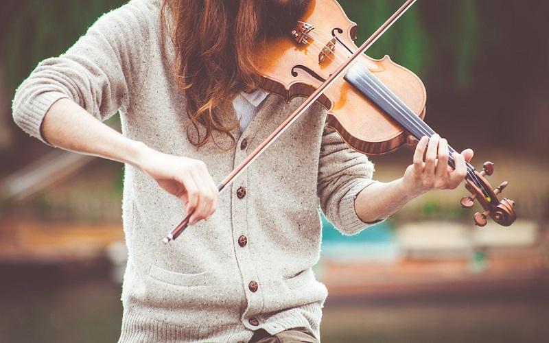 Gudački glazbeni instrumenti - Violina