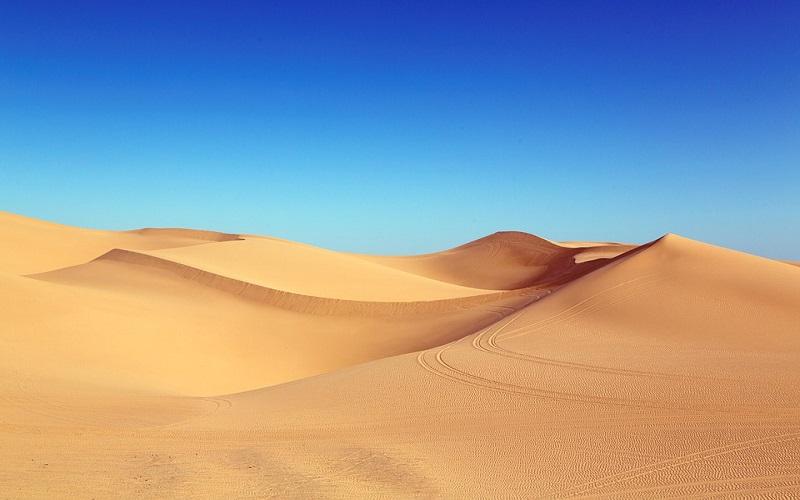 Fotografije pustinje - pješčane dune