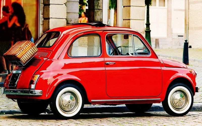 Stara vozila - Fiat 500