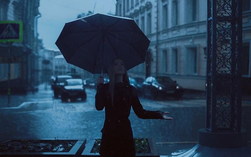 Jesen lijepe slike - Jaka jesenska kiša