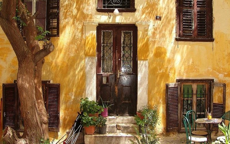 Stare kuće u Grčkoj