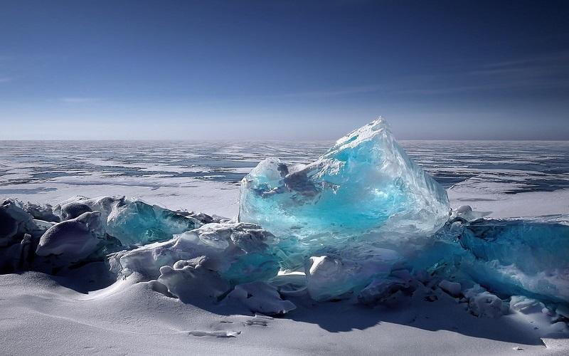 Slike prirode i zime - ledenjaci