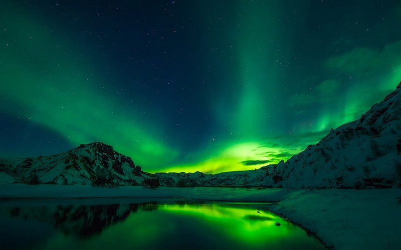 Fotografije neba - Aurora Borealis