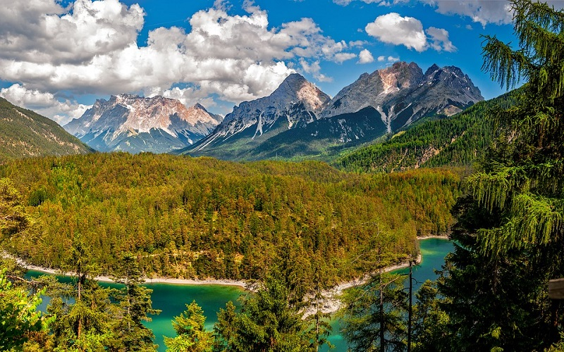 Jezera i planine u Austriji
