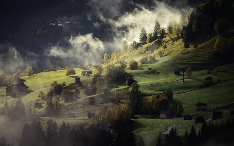Najljepše slike prirode - malo selo