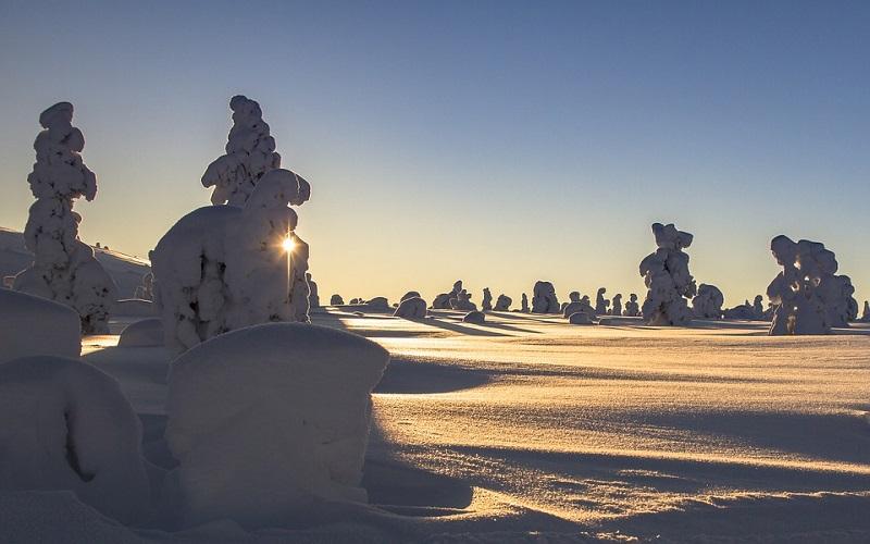 Godišnja doba - Zima u Finskoj