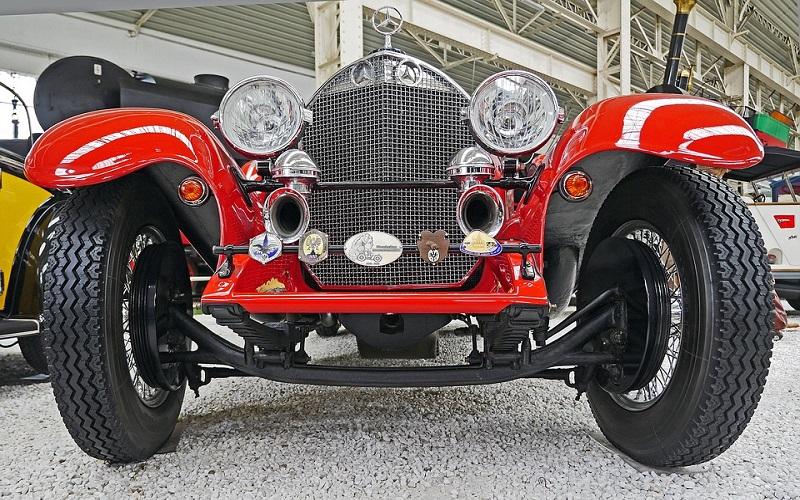 Stara vozila - Mercedes Spider