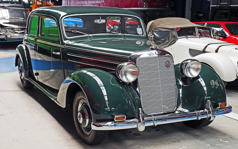 Oldtimer auti - Mercedes 170s