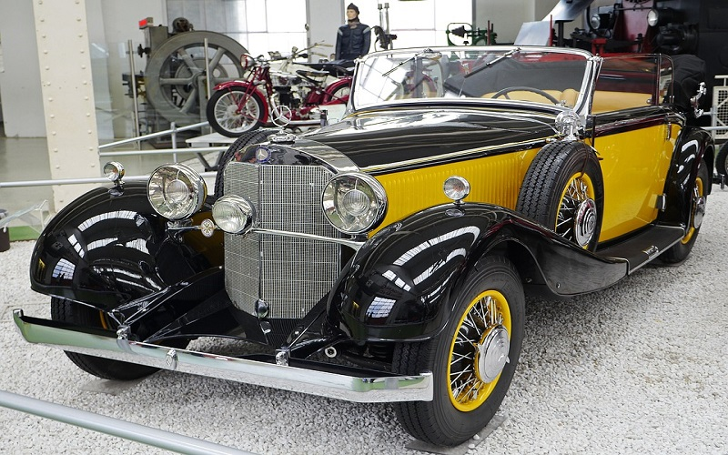 Stara vozila - Mercedes Tip 200 cabriolet