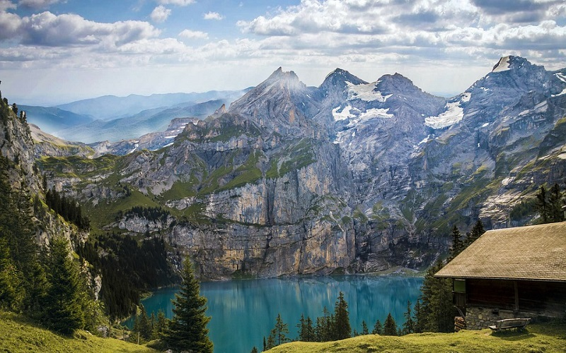 Fotografije jezera i planina