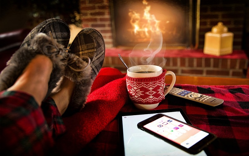 Lijepa godišnja doba - zimski ugođaj uz vatru