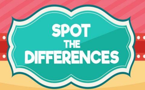 Igrice za djecu i dobru zabavu - Pronađi razlike