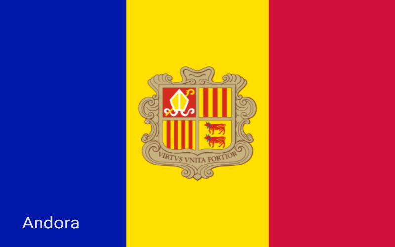 Zastave svijeta - Andora
