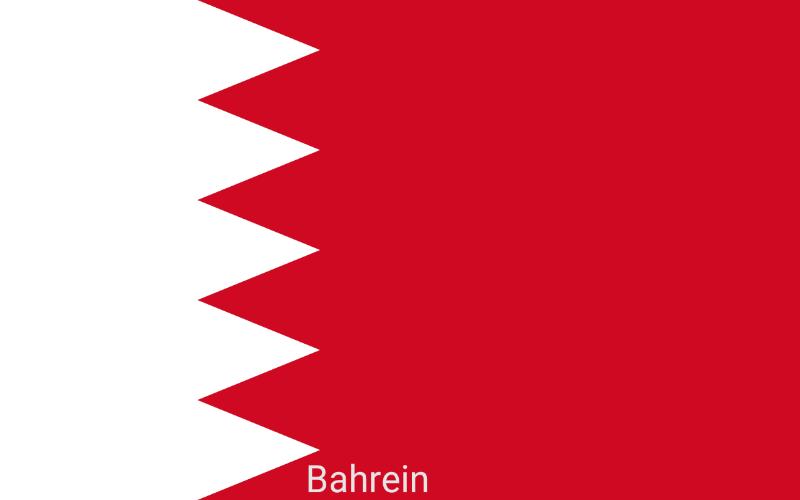 Zastave svijeta - Bahrein