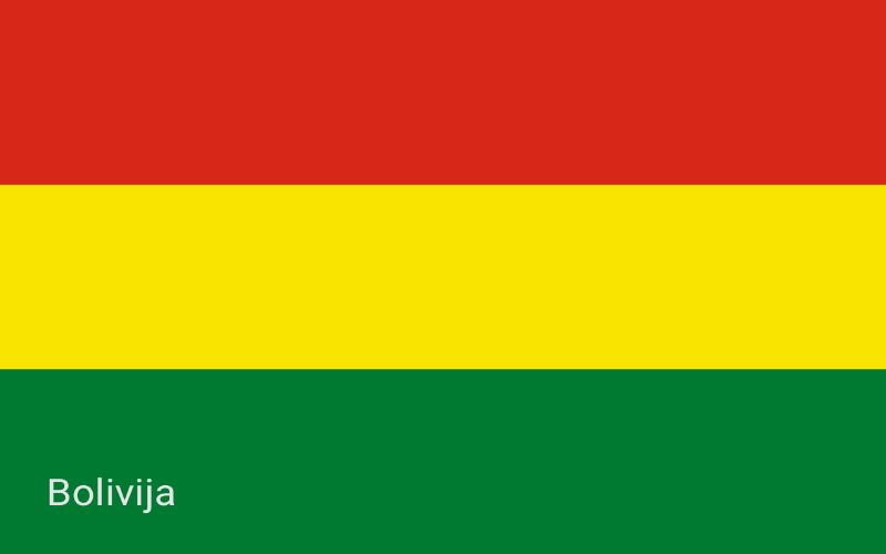 Zastave svijeta - Bolivija