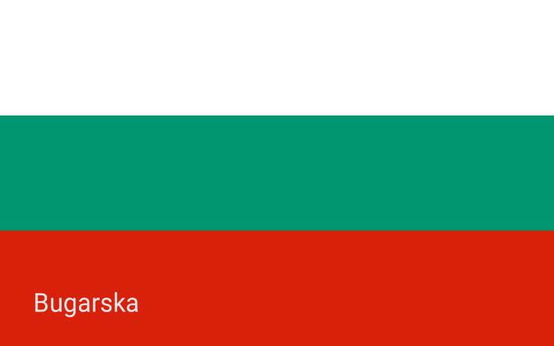 Zastave svijeta - Bugarska