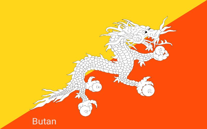 Države u svijetu - Butan