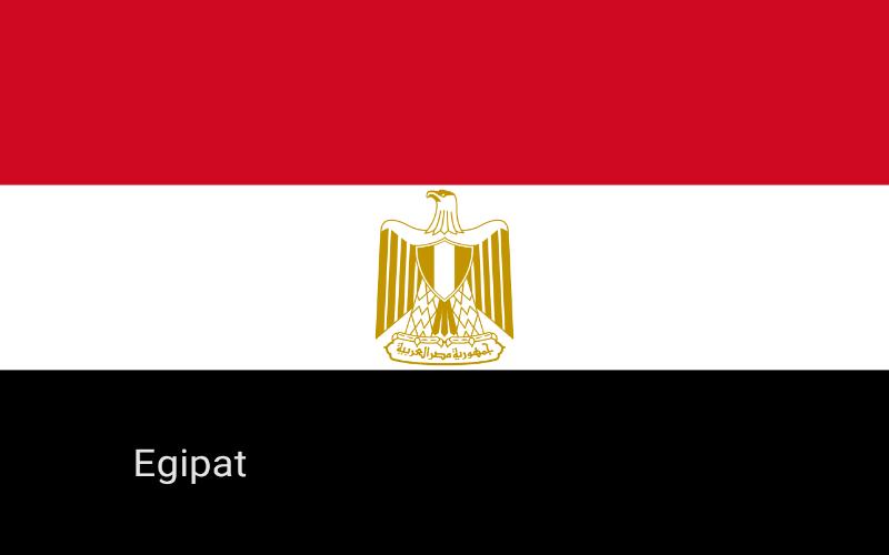 Zastave svijeta - Egipat