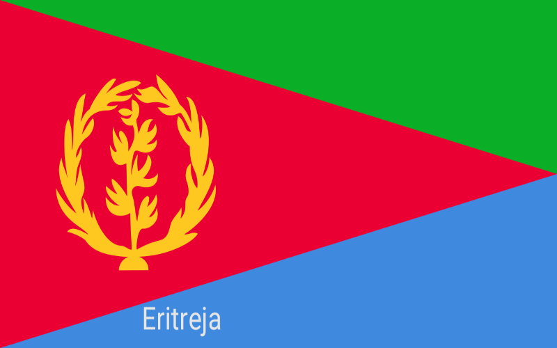 Zastave svijeta - Eritreja