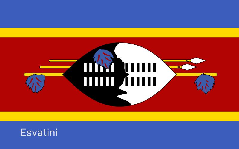 Države u svijetu - Esvatini