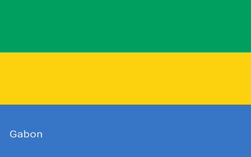 Zastave svijeta - Gabon