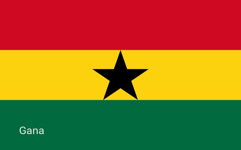 Države u svijetu - Gana