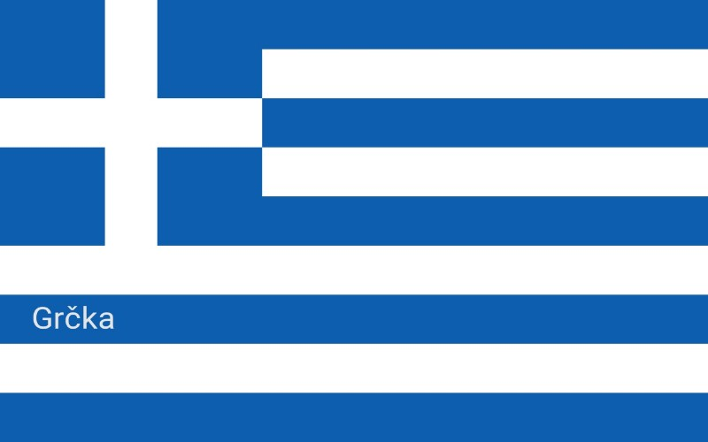 Zastave svijeta - Grčka